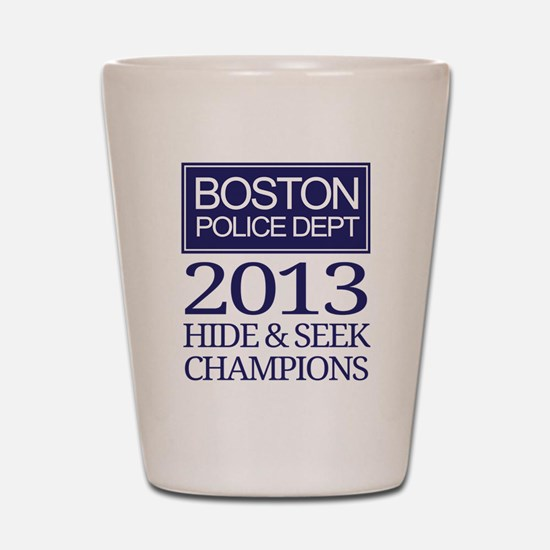 Boston Hide and Seek Champions Shot Glass