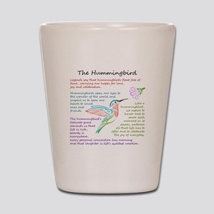 The Hummingbird Shot Glass