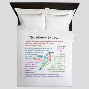The Hummingbird Queen Duvet
