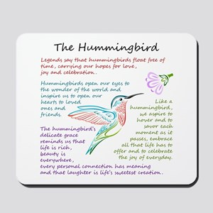 The Hummingbird Mousepad