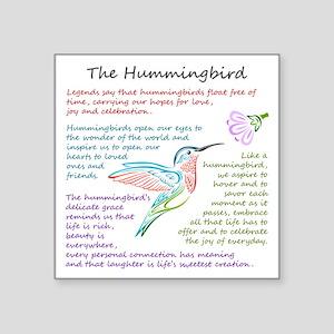 The Hummingbird Sticker