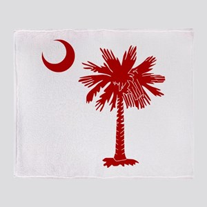 SC Big Red Throw Blanket