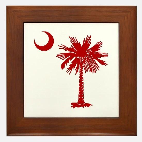 SC Big Red Framed Tile