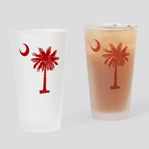SC Big Red Drinking Glass