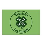 Pirish - Celebrate Pi Day Postcards (package Of 8)