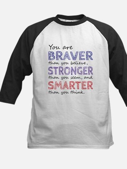 Braver Stronger Smarter Baseball Jersey