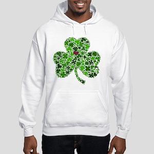 Irish Shamrock of Shamrocks for Hooded Sweatshirt