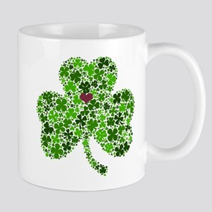 Irish Shamrock of Shamrocks for St. Patricks Mugs