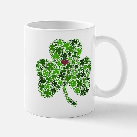 Irish Shamrock of Shamrocks for St. Patricks Mugs