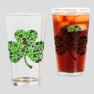 Irish Shamrock of Shamrocks for St. Drinking Glass