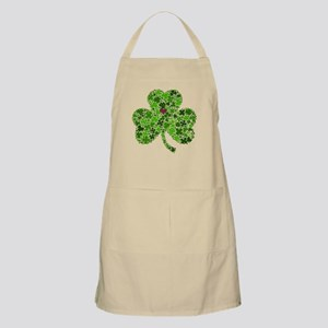 Irish Shamrock of Shamrocks for St. Patricks Apron