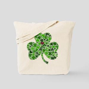 Irish Shamrock of Shamrocks for St. Patri Tote Bag