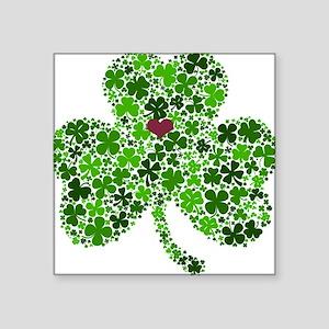 Irish Shamrock of Shamrocks for St. Patric Sticker