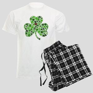 Irish Shamrock of Shamrocks f Men's Light Pajamas