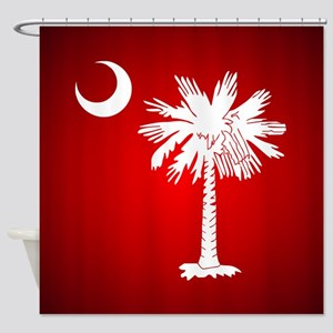 SC Big Red Shower Curtain