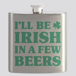 Irish in a few beers Flask