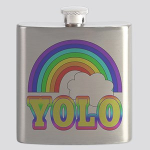 YOLO with Rainbow and Cloud Flask