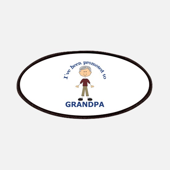 PROMOTED TO GRANDPA Patch