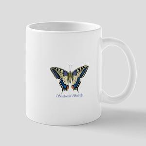 Swallowtail butterfly watercolour / watercolor Mug