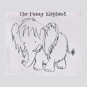The Fuzzy Elephant Throw Blanket