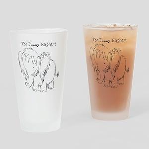 The Fuzzy Elephant Drinking Glass