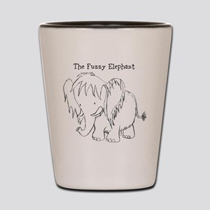 The Fuzzy Elephant Shot Glass