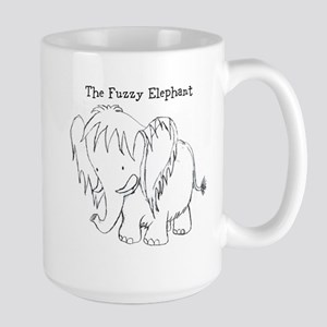 The Fuzzy Elephant Mugs