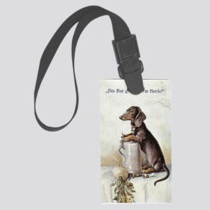 Master's Beer Large Luggage Tag