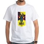 Noble Krell Robot White T-Shirt
