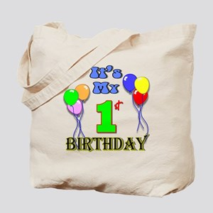It's My 1st Birthday Tote Bag