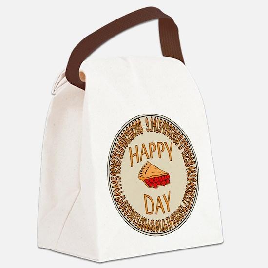 Happy PI Day Cherry Pie Canvas Lunch Bag