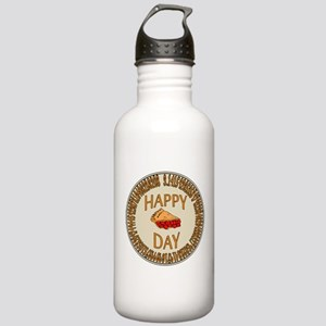 Happy PI Day Cherry Pi Stainless Water Bottle 1.0L