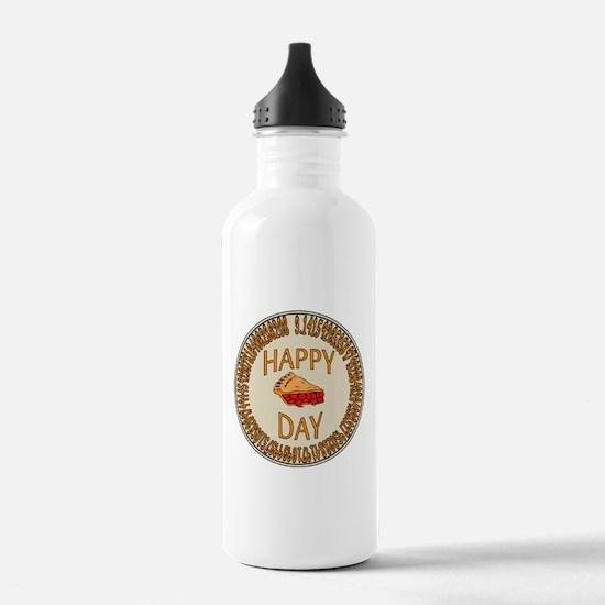 Happy PI Day Cherry Pi Water Bottle