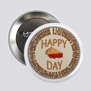 "Happy PI Day Cherry Pie 2.25"" Button"