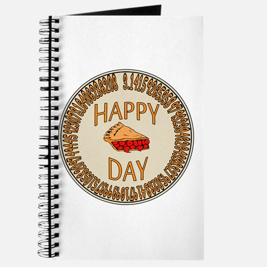 Happy PI Day Cherry Pie Journal
