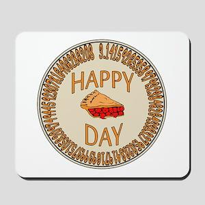 Happy PI Day Cherry Pie Mousepad