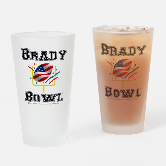 Official Brady Bowl Drinking Glass