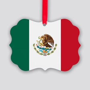 Mexican Flag Ornament