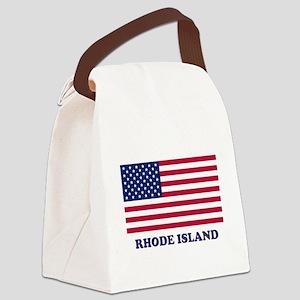 Rhode Island Canvas Lunch Bag