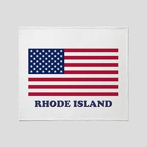 Rhode Island Throw Blanket