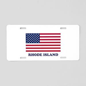 Rhode Island Aluminum License Plate