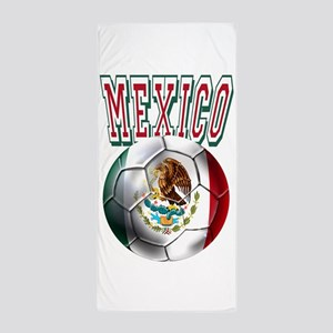 Futbol Mexicano Beach Towel