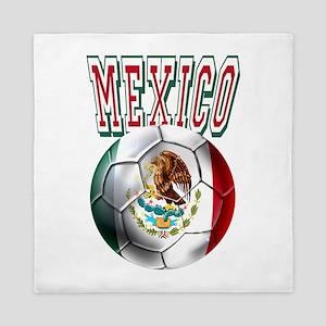 Futbol Mexicano Queen Duvet