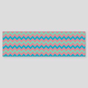 Stripes2015F6 Sticker (Bumper)
