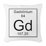 64. Gadolinium Woven Throw Pillow