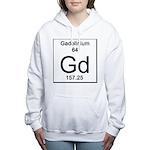 64. Gadolinium Women's Hooded Sweatshirt