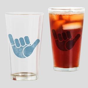 Shaka Wave Drinking Glass