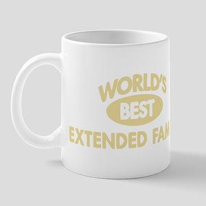 Worlds Best EXTENDED FAMILY Mug