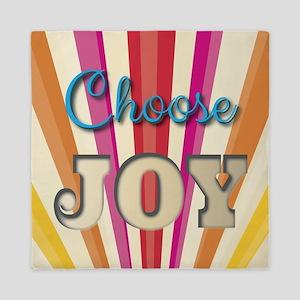 Choose Joy Queen Duvet