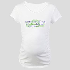 God's Irishman Maternity T-Shirt